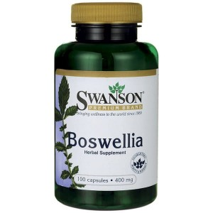 Swanson Boswellia (kadzidłowiec) 400mg - (100 kap)(data do konca 08.2019r)