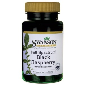Swanson Black Raspberry 425mg - (60 kap)