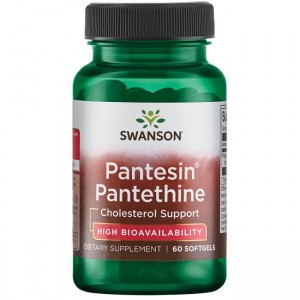 Swanson Pantesin Panthetine 300mg (60 kap)