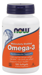 Now Foods omega 3 1000mg (100 kap)