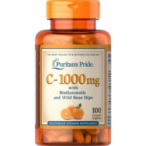 Puritan's Pride Witamina C - 1000 mg - (100 tab)