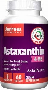 JARROW Astaksantyna  4mg (60 kap)(data do 30,04,2020 r)