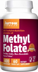JARROW Methyl Folate 400mcg (60 kap)