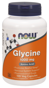 NOW Foods Glicyna 1000 mg (100 kap)