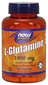 NOW Foods L- glutamina – 1000 mg (120 kap)