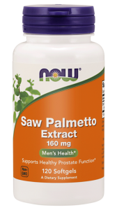 NOW Foods Saw Palmetto – ekstrakt 160 mg – (120 kap)