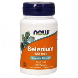 NOW Foods Selen 100mcg (100 tab)
