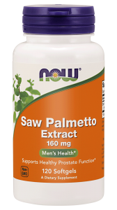 NOW Foods Saw Palmetto – ekstrakt 160 mg – (60 kap)