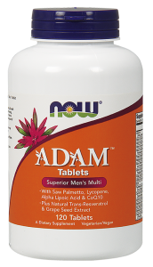 NOW Foods ADAM (120 tab)