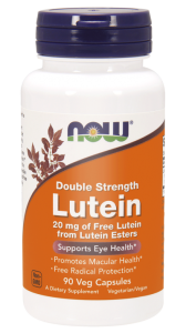 NOW Foods Luteina 20 mg (90 kap)