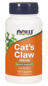 NOW Foods Cat's Claw ( koci pazur)500 mg (100kap)