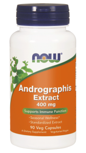NOW Foods Andrographis Extract 400 mg (90 kap)