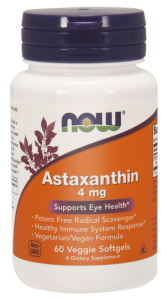 NOW Foods Astaksantyna 4mg (60 kap)
