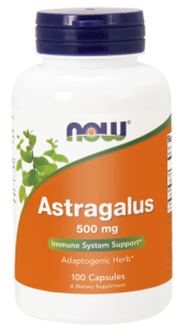 NOW Foods Astragalus 500mg (100 kap)