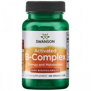 Swanson Activated B-Complex (60 kap)