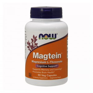 NOW Foods Magtein™  Magnez L-treonian (90 kap)
