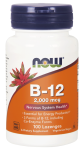NOW Foods B-12  2000 mg (100 kap)