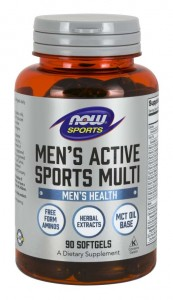 NOW MEN  ACTIVE sport( 90 kap)