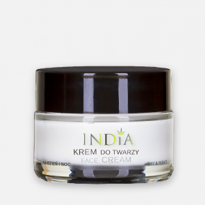 India krem do twarzy z olejem z konopi 50 ml