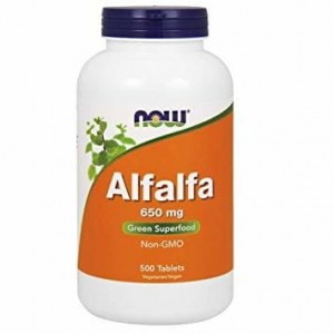 Now foods Alfalfa 650mg (500 tabl)