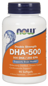 NOW Foods DHA 500  (90kap)
