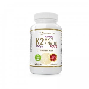Progress Labs Witamina K2 MK-7 100mcg (120 tab)