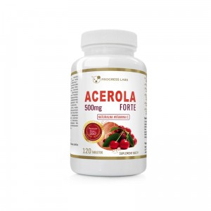 Progress Labs Acerola Forte 500mg Naturalna Witamina C (120 tab)