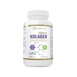Progress Labs Kolagen (Seagarden®) Rybi Morski 500mg  (120 kap)