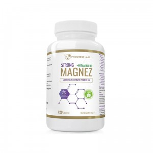 Progress Labs Magnez Strong+ Witamina B6   (120 kap)
