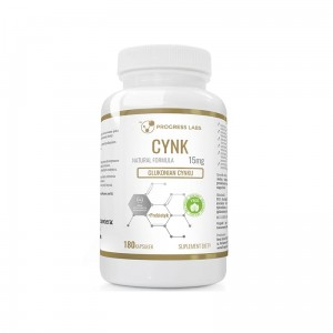 Progress Labs Cynk Glukonian Cynku 15mg  (180 kap)