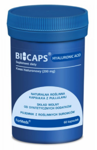 ForMeds BICAPS® HYALURONIC ACID Kwas hialuronowy (60 kap)