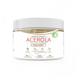 Progress  Labs  Acerola Naturalna Witamina C W Proszku (250g)