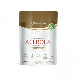 Progress  Labs  Acerola Naturalna Witamina C W Proszku (500g)