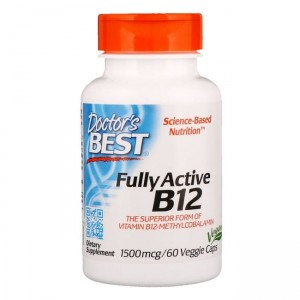 Doctor's Best Fully Active B12 1500mcg - (60 kap)