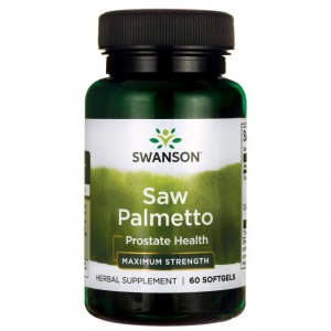 Swanson Saw Palmetto ekstrakt 320mg (60kap)