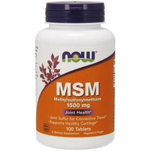 Now Foods MSM  1500mg - (100 tab)