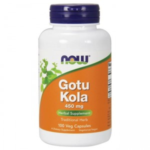 NOW Foods Gotu Kola 450mg - (100 vkap)