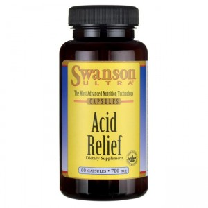 Swanson Acid Relief 700mg - (60 kap)
