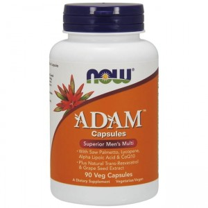 NOW Foods Adam - (90 kap)