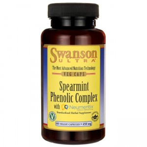 Swanson Spearmint Phenolic  450mg - (60 kap)(data do konca 11,2019r)