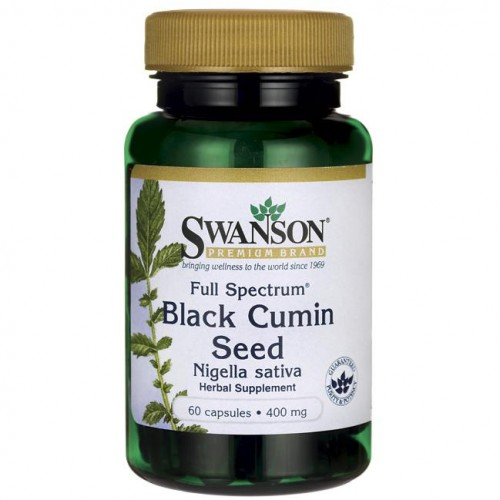 Swanson Full Spectrum Black Cumin Seed 400mg - (60 kap).jpg